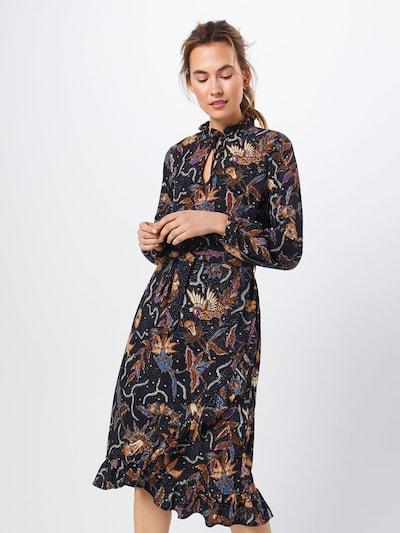 SISTERS POINT Kleid 'VALLI-DR3' in mischfarben / schwarz, Modelansicht