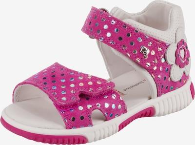 ELEFANTEN Sandale 'Maly' in pink / silber / weiß, Produktansicht