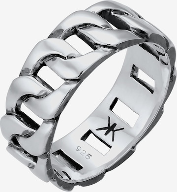 KUZZOI Ring 'Twisted' in Silber