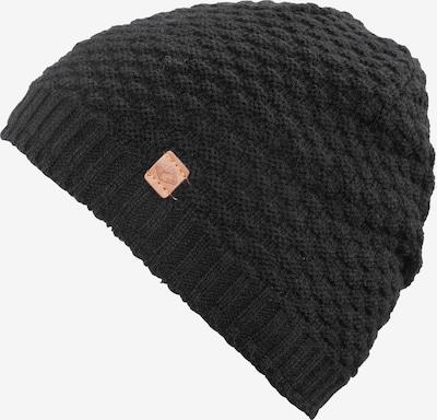 chillouts Bonnet en noir, Vue avec produit