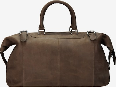 Harold's Toro Reisetasche Leder 52 cm in braun, Produktansicht