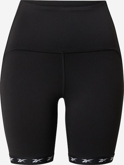 Sportinės kelnės iš REEBOK , spalva - juoda / balta, Prekių apžvalga