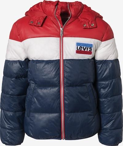 LEVI'S Winterjacke in blau / rot / weiß, Produktansicht