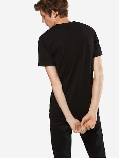 Mister Tee T-Shirt 'Rose' in grün / feuerrot / schwarz: Rückansicht