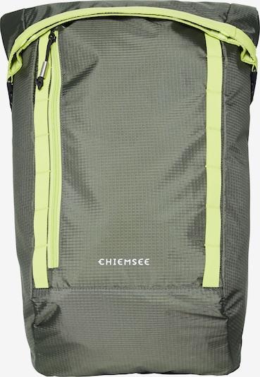 CHIEMSEE Rucksack in limone / oliv, Produktansicht