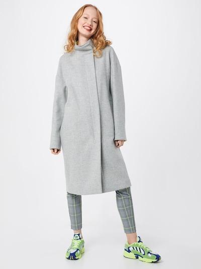 Rudeninis-žieminis paltas iš Marc Cain , spalva - šviesiai pilka: Vaizdas iš priekio