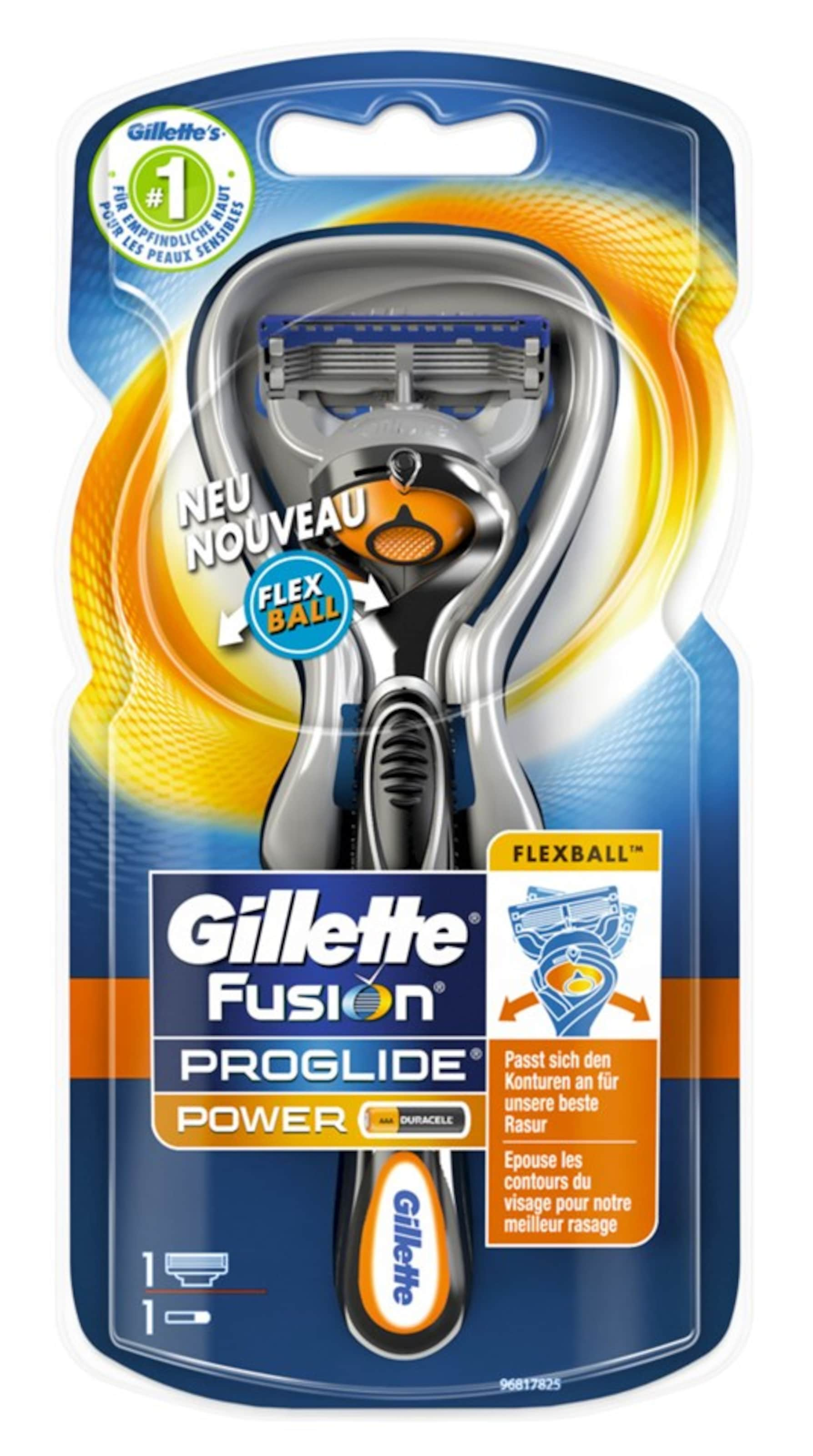Gillette 'Fusion ProGlide Power', Rasierer mit Flexball-Technologie