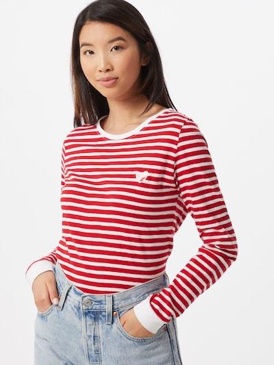 Eight2Nine Majica   rdeča / bela barva: Frontalni pogled