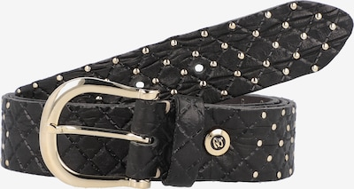 b.belt Handmade in Germany Riem in de kleur Zwart, Productweergave