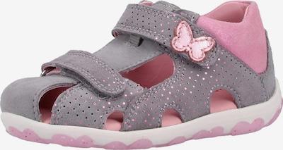 SUPERFIT Schuhe 'FANNI' in grau / altrosa, Produktansicht