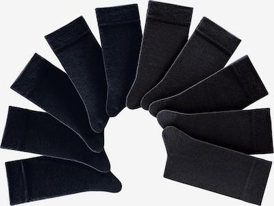 H.I.S Socken Pack in schwarz, Produktansicht