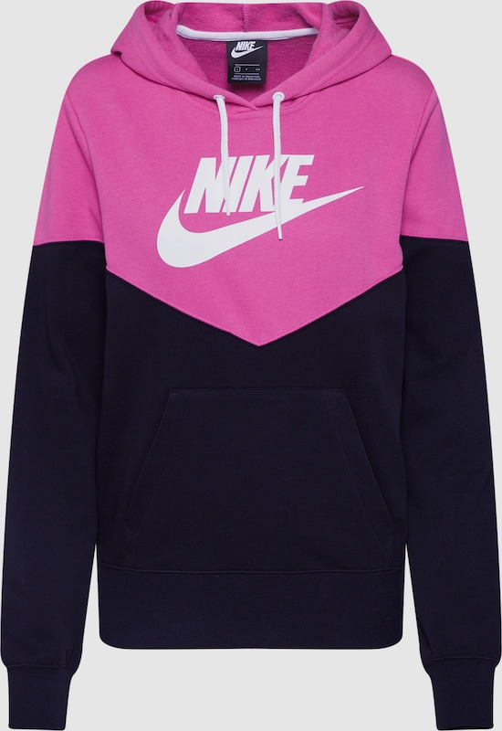 1792980ebaf Nike Sportswear Sweatshirt in Lila / Zwart | ABOUT YOU