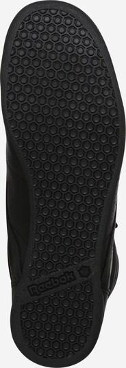 Reebok Classics High-Top Sneakers in Black: Bottom view
