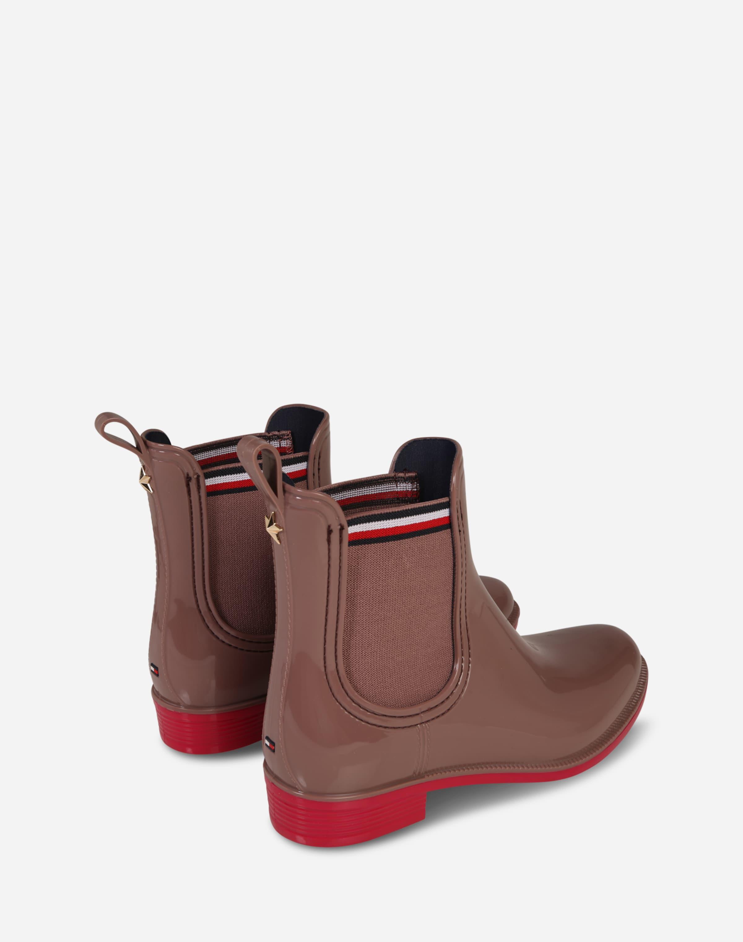 TOMMY HILFIGER Chelsea Boots in Lack-Optik 'Dette' Billig Verkaufen Günstigsten Preis Die Besten Preise Verkauf Online qFWs4
