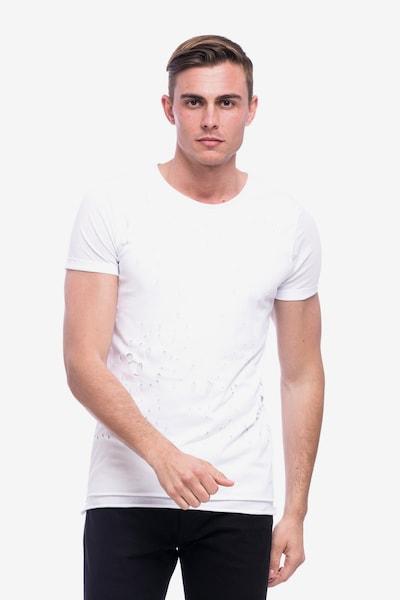 Tom Barron Rundhalsshirt in weiß, Produktansicht