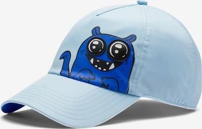 PUMA Cap in blau / hellblau / schwarz, Produktansicht