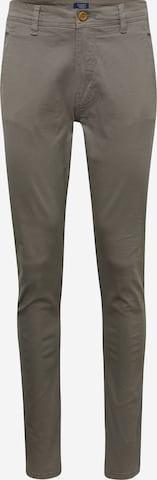 BLEND Chino-püksid, värv hall