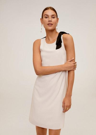 MANGO Kleid 'laz' in nude / schwarz, Modelansicht