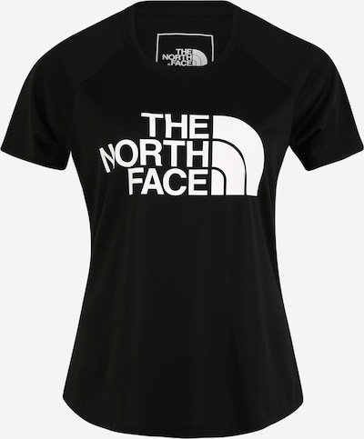 THE NORTH FACE Functioneel shirt in de kleur Zwart / Wit, Productweergave