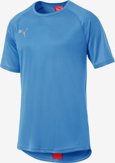 PUMA T-Shirt in blau / rot, Produktansicht