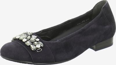 SEMLER Ballerinas in violettblau, Produktansicht