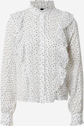 Y.A.S Bluse 'YASHEART LS SHIRT' in weiß, Produktansicht