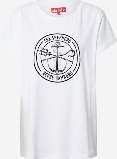 Derbe Tričko - černá / bílá, Produkt