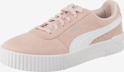 PUMA Sneakers laag 'Carina' in de kleur Poederroze / Wit, Productweergave
