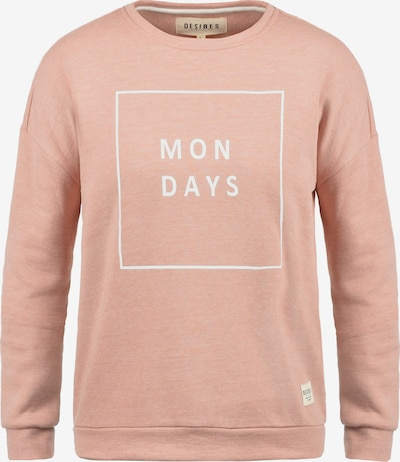 Desires Sweatshirt 'Emma' in rosa, Produktansicht