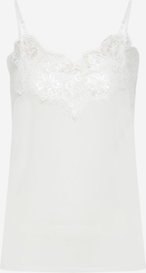 SOAKED IN LUXURY Haut 'Clara' en blanc, Vue avec produit