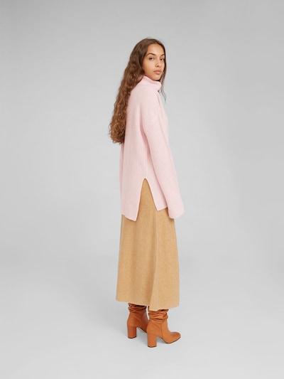 EDITED Pullover mit Kaschmiranteil 'Allegra' in pink: Rückansicht