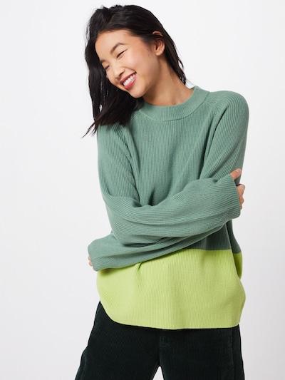 BOSS Pullover 'Wenevery' in grün, Modelansicht
