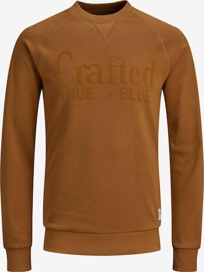 Produkt Sweatshirt in karamell, Produktansicht
