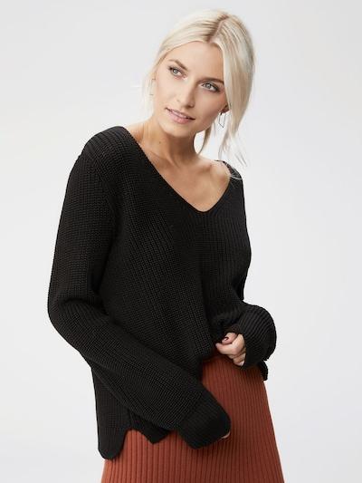 LeGer by Lena Gercke Trui 'Ella' in de kleur Zwart, Modelweergave