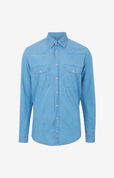 JOOP! Jeans Hemd ' Henrik ' in blau, Produktansicht