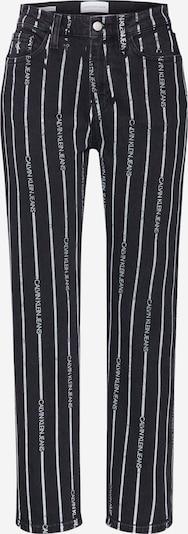Calvin Klein Jeans Jeans in de kleur Black denim / Wit, Productweergave