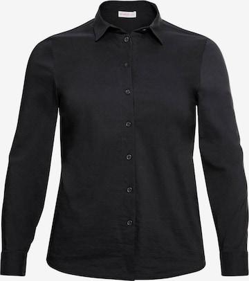 SHEEGO Bluse i svart