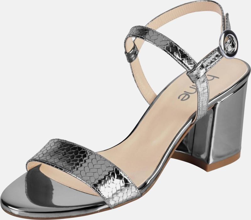 heine Sandalette in Lack-Optik
