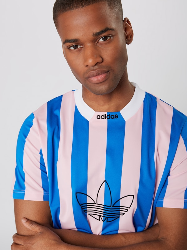 ADIDAS ORIGINALS Shirt 'ES PLY JERSEY' in Blauw Rosa