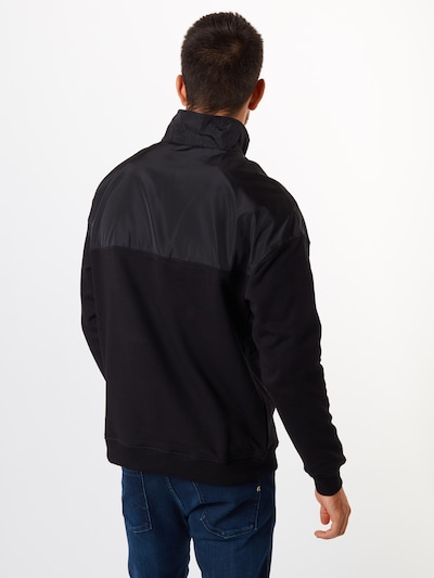 Urban Classics Majica | antracit / črna barva: Pogled od zadnje strani