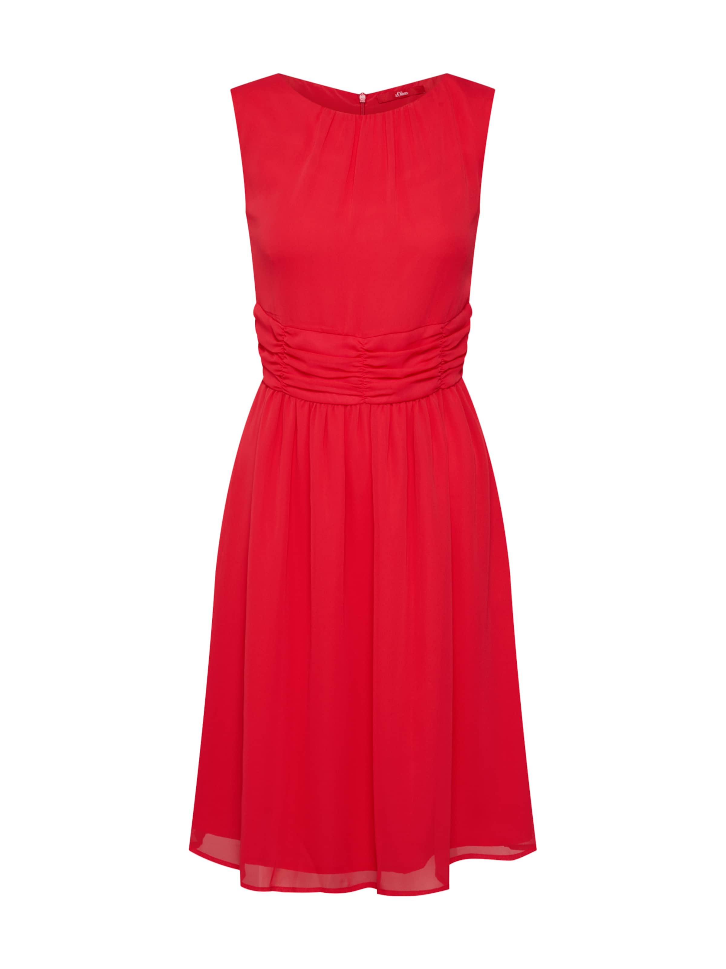 Red In 'kleid' Kleid S Hellrot oliver Label D2YH9WEI