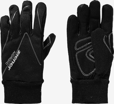 ZIENER Langlaufhandschuhe 'UNICO' in schwarz, Produktansicht