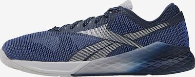 REEBOK Sportschuhe in blau / grau / schwarz, Produktansicht