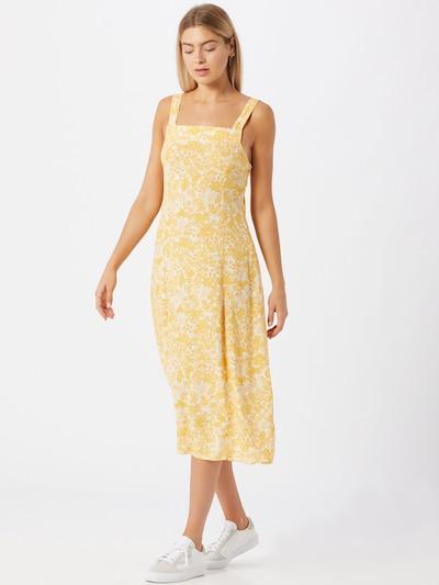 Cotton On Letní šaty 'Maddy' - jasně oranžová / bílá, Model/ka