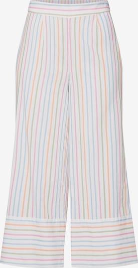 Pantaloni cutați 'Stripy NW' VERO MODA pe culori mixte / alb, Vizualizare produs