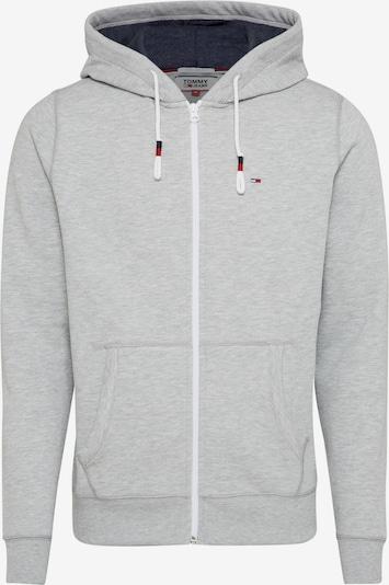 Tommy Jeans Hoodie 'JM' in grau, Produktansicht
