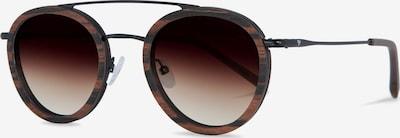 Kerbholz Sonnenbrille 'Berthold' in braun, Produktansicht