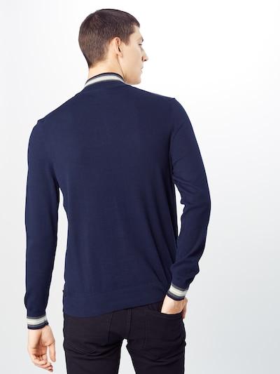BURTON MENSWEAR LONDON Sweter w kolorze granatowym: Widok od tyłu