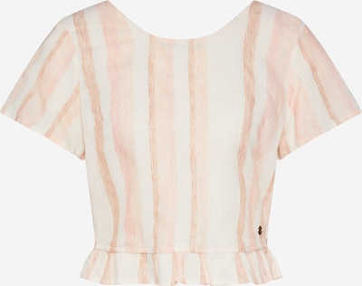 ROXY Shirt 'GHOST AWAY' in rosa / weiß, Produktansicht