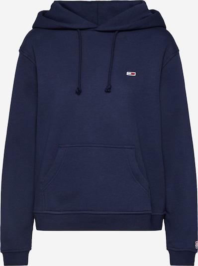 Tommy Jeans Sweatshirt in de kleur Nachtblauw, Productweergave